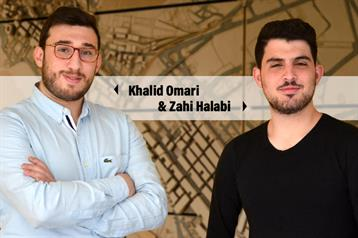 Students Khalid Omari & Zahi Halabi win an honorable mention in the Beirut Post-Blast idea competition