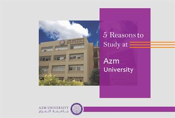 5 Reasons to study at Azm University