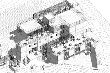 Azm University's School of Architecture and Design Assistant Professor Maxim Julian wins the first prize for the design and construction of the Centre of Peace and Reconciliation Lebanon